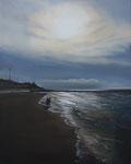 Nordsee IV (2017), Öl auf Leinwand, 40 x 50 cm