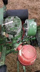 2 Takt-Ilo-Motor mit Frischölschmierung (hier ohne Luftbleche)