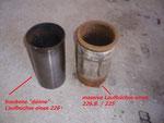 trockene / nasse Laufbüchsen aus MWM 226 und MWM 226B