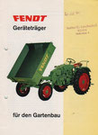 1966, 30 PS Gartenbau - kleiner als A4, größer als A5
