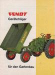 1971, 32 PS Gartenbau - kleiner als A4, größer als A5