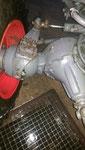 Nachher: Allradachse gereinigt, bereit zur Überprüfung und Ölwechsel