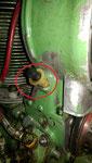 Öleinfüllstutzen abgerissen, deshalb Tausch des Gehäuses nötig
