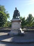Denkmal von Pasteur in Arbois
