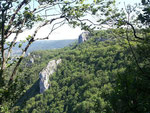 Landschaft oberhalb von Arbois