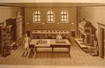 MALORTIE, Ernst Ansicht  einer herrschaftlichen Küche