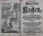 MASSIALOT, François Allerneuste Anweisung zum Kochen.  2. Ausgabe. 1747
