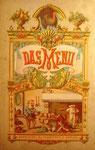 MALORTIE, Ernst Das Menü - Erstausgabe 1878