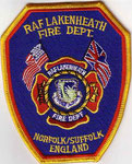 RAF Lakenheath Fire Dept.