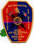 RAF Croughton/Fairford/Welford 422 CES  Fire & ES
