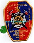 RAF Croughton/Fairford/Welford  Fire & ES