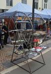 la roue des bibliothèques pour faire connaître les initiatives citoyennes de la commune