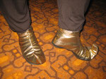 Diese Schuhe sind einsame Spitze!
