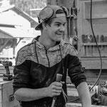 Severin Melcher, Auszubildender Salzgeber Holzbau