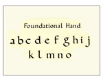 Foundational Alphabet