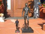 Statua grande e statua piccola