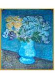 nach van Gogh - Blumen - 57 x 49,5 - Pastell / Papier - 2005