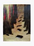 Chor - Einsingen - 32 x 24 - Acryl / Acrylpapier - 2016