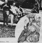 Chinceros, Peru - Collage und Scriptol / Papier - 1985
