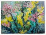 Frühling - 44.4 x 60,5 - Acryl / Hartfaser - 2018