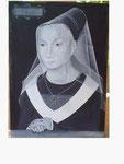 nach Memling - Portrait einer jungen Frau - 38 x 26,5 - Tempera / Holz - 2003