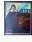 nach Goya - Leocadia Weiss - 77 x 63 - Öl / Holz - 2001