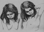 Jagua-Indios Zwillinge, Columbien - Scriptol / Papier - 1985