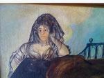 nach Goya - Leocadia Weiss - Ausschnitt -
