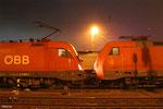 zweimal Siemens in Saarbrücken, ÖBB 1116 260 und 152 083