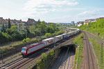 """CFL 4016 mit """"Marszug"""",  Abzweig Saardam am 19.04.14"""