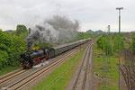 01 150 mit DPE 20301 Saarbrücken Hbf - Gerolstein (SSN Eifelland Express) am 10.05.14 in Bous
