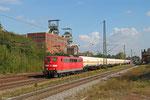 151 102 mit XP 49247 Creutzwald/F - Hüls AG, Luisenthal(Saar) 01.10.14