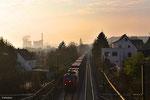 VFLI 37013 mit DGS 98153  Apach - Saarbrücken Hbf am 18.03.14 in Saarbrücken-Burbach (Umleiter