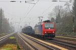 482 033 mit DGS 90000 nach Neunkirchen(Saar) Hbf am 29.11.13 in Dudweiler