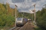 AKIEM BB37033 mit DGS 42226 Ludwigshafen (Rhein) BASF Ubf - Lyon-Guillotiere/F (KV), Stiring-Wendel 14.10.14