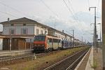 SNCF BB26225 mit 48453 (Hendaye/F) Metz Sablon/F - Forbach/F (Transfesa - Autologistik) , Forbach 03.06.14