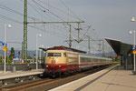 103 113 mit IC 2316 Stuttgart Hbf - Wiesbaden Hbf Haltepunkt Mannheim Arena/Maimark am 22.05.14