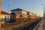 ECR 66 026 mit 460821 Survilliers Foss/F - Forbach/F (Saarbrücken Rbf Nord) (Railport), Forbach 07.08.14