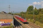 143 129 mit RE-D 12010 Kobelnz Hbf - Saarbrücken Hbf, Bous(Saar) 02.10.14
