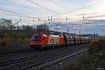 RTS 1216 903 mit DGS 69240 Neunkirchen(Saar) Hbf - Moers am 20.11.13 in Saarbrücken-Burbach