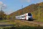 DB Regio AG FLIRT3 (Flinker Leichter Innovativer Regional Triebzug), Luisenthal(Saar) 13.11.14