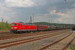 """181 211 """"Lorraine"""" mit EK 55884 nach Saarbrücken Rbf am 24.04.14 in Neunkirchen"""