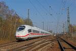 407 515 am 11.03.14 in Einsiedlerhof als PFT-W 89270 von Frankfurt/M. Hbf nach Saarbrücken Hbf (anschließend nach Merzig im Rahmen von Präsentationsfahrten zur Zulassung in Frankreich)