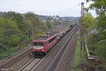155 219 mit EK 55884 Neunkirchen(Saar) Hbf - Saarbrücken Rbf Nord, Sulzbach(Saar) 29.10.14