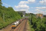 ECR 77 024 mit EZ 47256 Saarbrücken Rbf West - Gretz Armainvilliers/F (Tournan, Bosch) , Saarbrücken 24.06.14