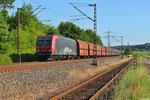 08.07. - Kraftwerk Ensdorf  , 145 084 mit DGS 90035