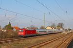 101 122 mit IC 2258 Frankfurt(Main)Hbf - Saarbrücken Hbf am 16.03.14 in Einsiedlerhof