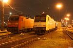 ITL 152 197 und DBSR 152 114 am 14.11.13 in Saarbrücken