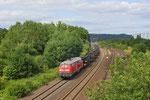 11.07. - Neubrücke(Nahe) , 218 009 mit M 62806 Baumholder - Immelborn