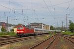 181 220 mit IC 134 Norddeich Mole - Luxemburg/L , Koblenz Mosel am 07.06.14